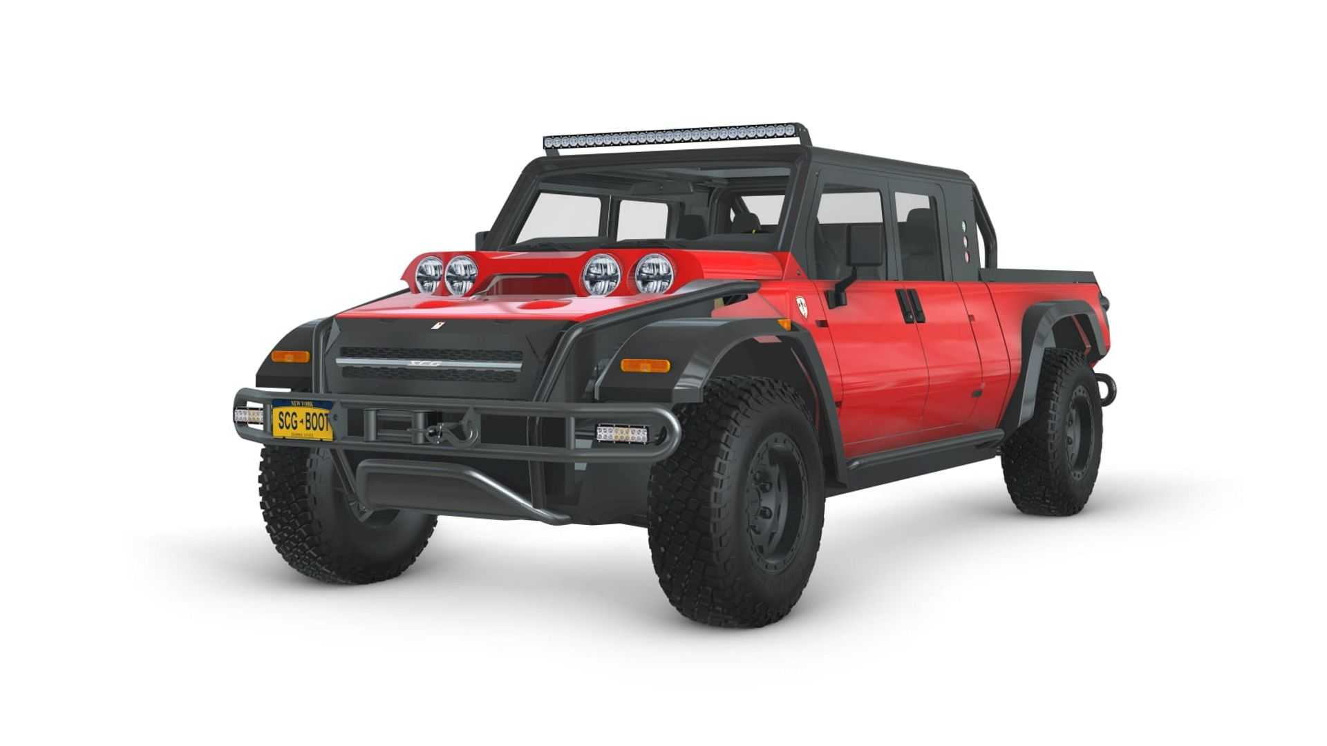 Meet The SCG 010 Zero Fuel Cell Pickup Truck That Challenged The Cybertruck