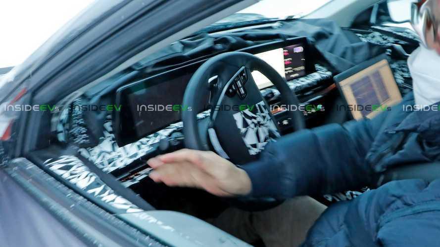 We Peek Inside The Upcoming Kia CV Electric Crossover
