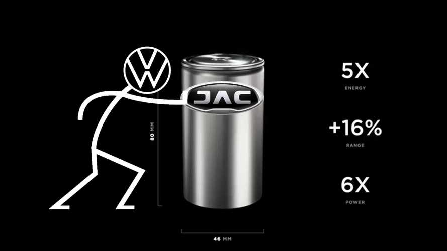 JAC (And Volkswagen) Will Develop a 46800 Cell With CBAK Energy