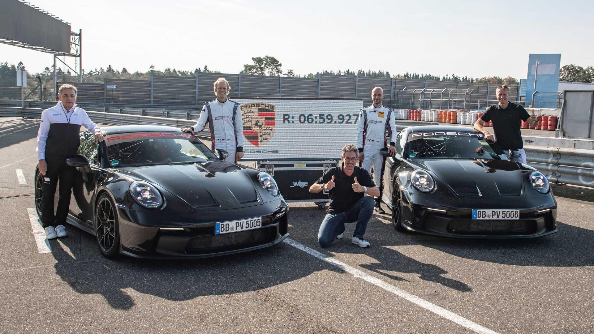 Watch New Porsche 911 GT3 Blitz The Nurburgring Nordschleife - Motor1