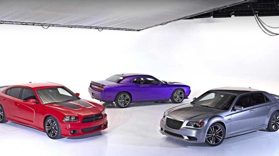 Dodge Challenger SRT8 & Chrysler 300 SRT8 Core Editions revealed in Chicago