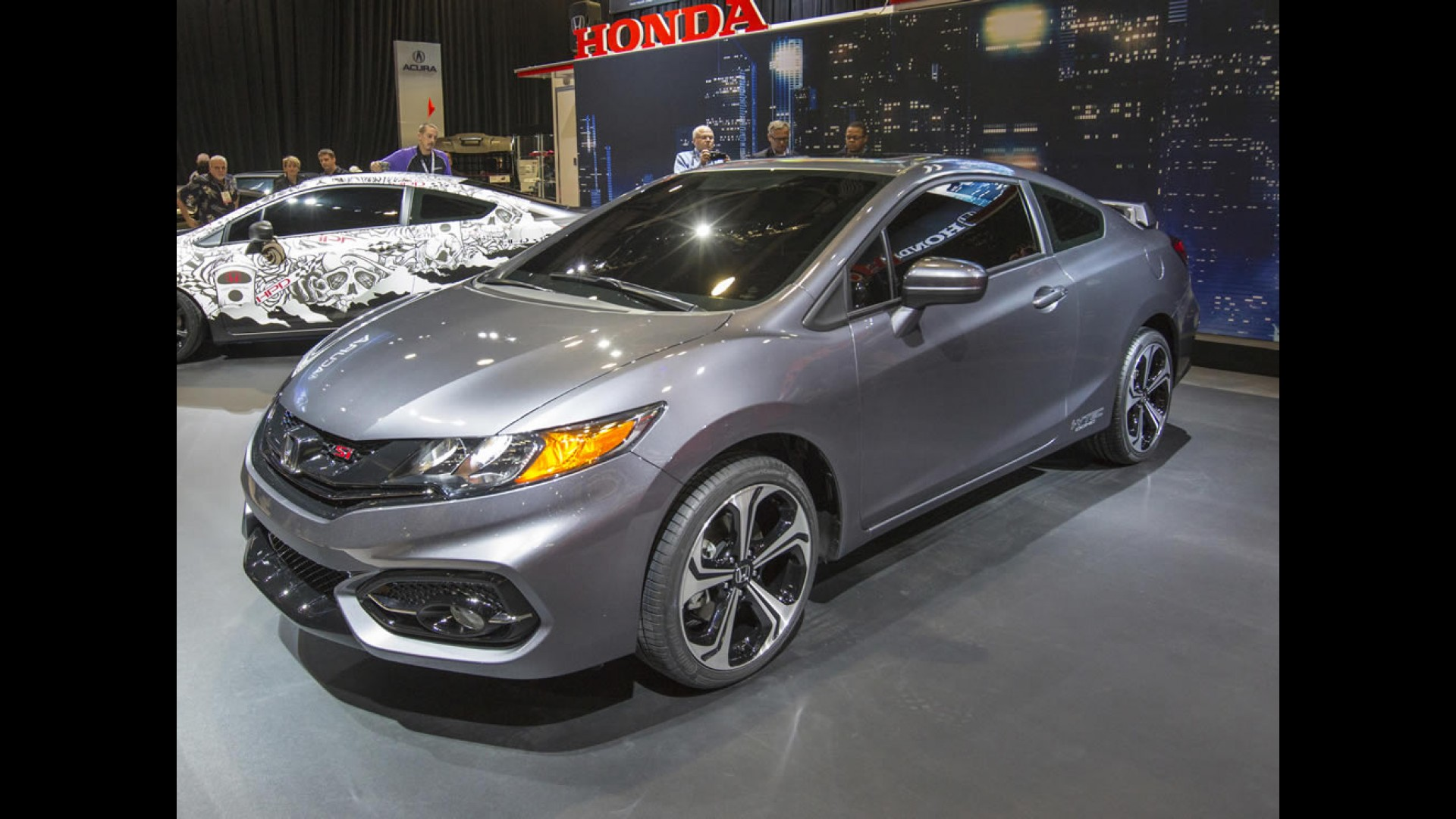 Honda Mostra Novo Civic Si Coupé 2014