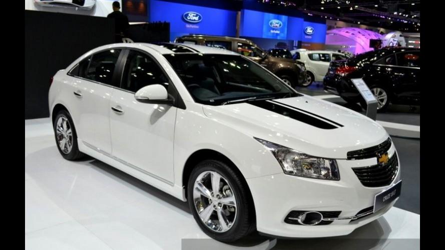 """Chevrolet Cruze ganha edição """"estilosa"""" exclusiva para a Tailândia"""