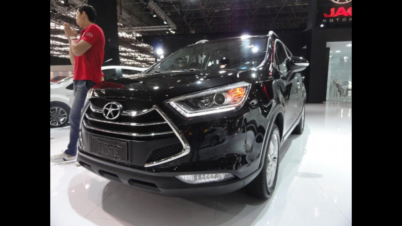 Salão SP: JAC apresenta os novos SUVs T5 e T6
