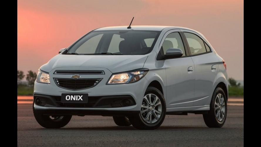 O preço do sucesso: GM reajusta tabela e Onix parte agora de R$ 37.540