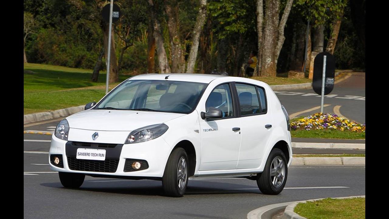 Renault Sandero ganha edição Tech Run por R$ 37.400
