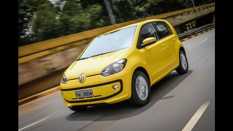 """Econômico: VW up! 2 portas e I-Motion conseguem classificação """"A"""" no Inmetro"""