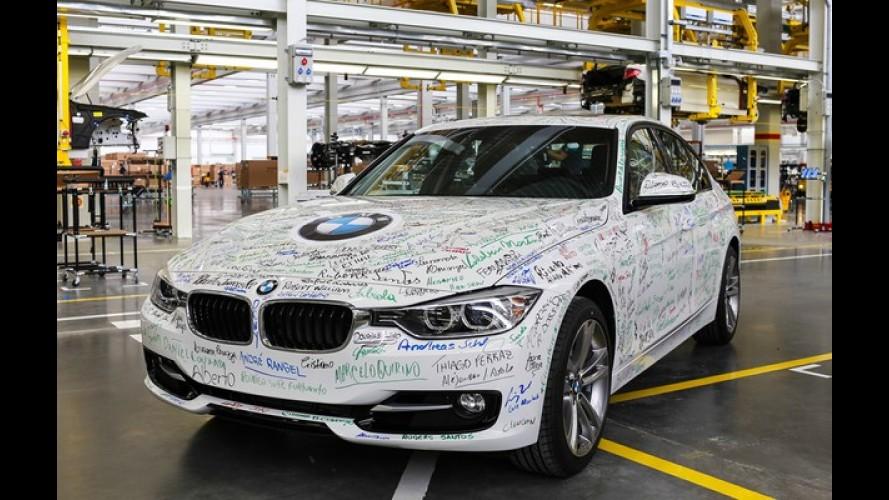 BMW produz primeiro exemplar do Série 3 em Santa Catarina