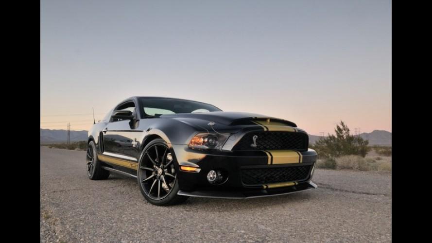 Shelby lança três edições limitadas do Mustang