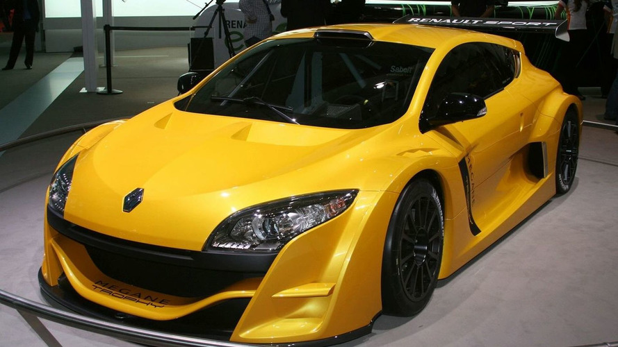 New Renault Mégane Trophy 2009 Revealed in Paris