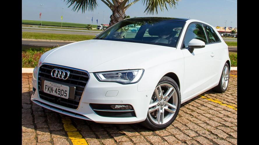Beleza germânica: Audi A3 é eleito carro compacto mais bonito da Europa