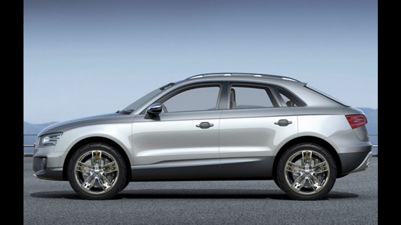 Audi revela desenhos do Q3 – Estreia acontece no Salão de Xangai