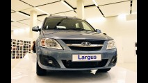 Dacia Logan MCV será apresentada como Lada Largus na Salão de Moscou