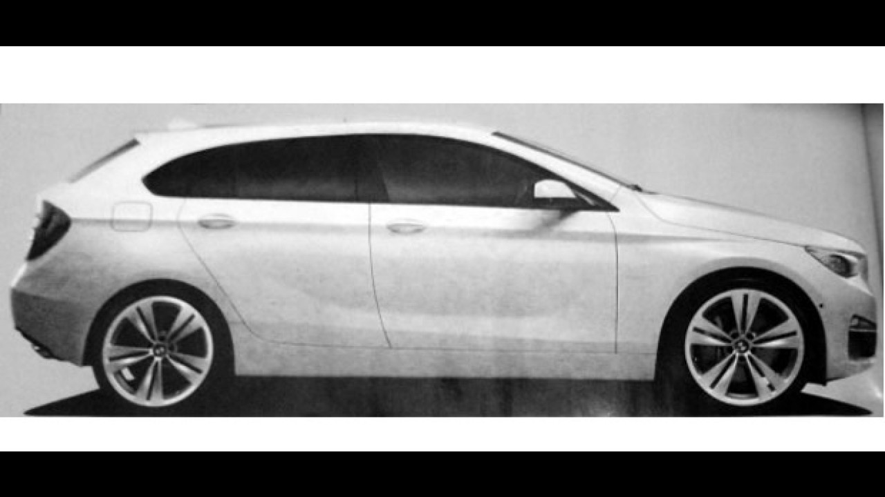 Nova geração do BMW Série 1 estará no Salão de Frankfurt