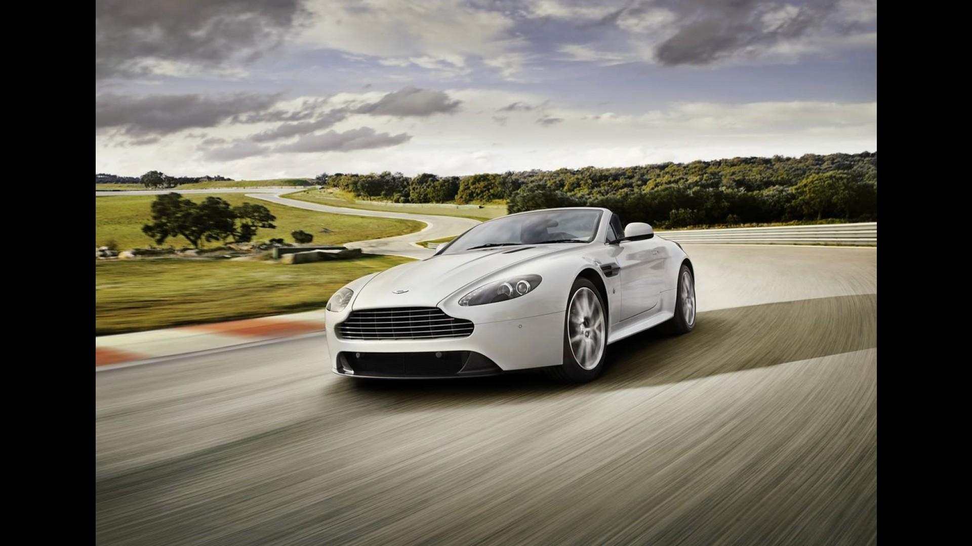 Video Aston Martin V8 Vantage 2012
