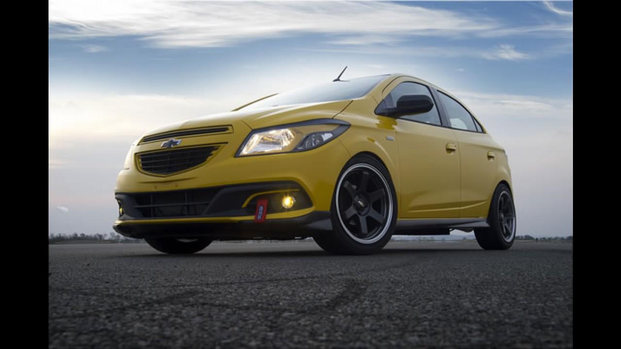 Salão SP: Chevrolet Onix Track Day tem motor 1.8 Ecotec com 150 cv