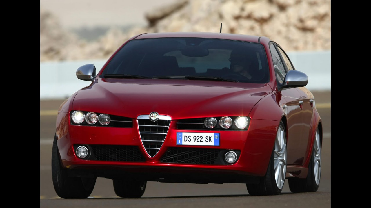 Alfa Romeo 159 sai de linha para dar lugar ao Novo Panda