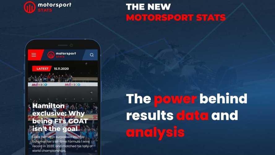 Motorsport Stats si rilancia con nuove funzioni e dati più veloci