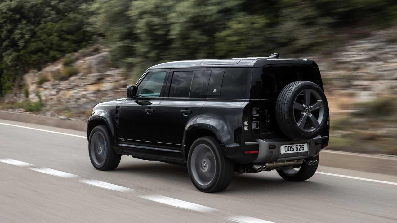 Posible Land Rover Defender SVR con motor V8 y más de 600 CV