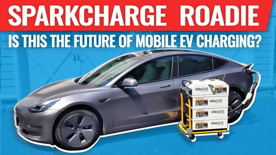 The Roadie: Is This The Future Of Mobile EV DC Fast Charging?