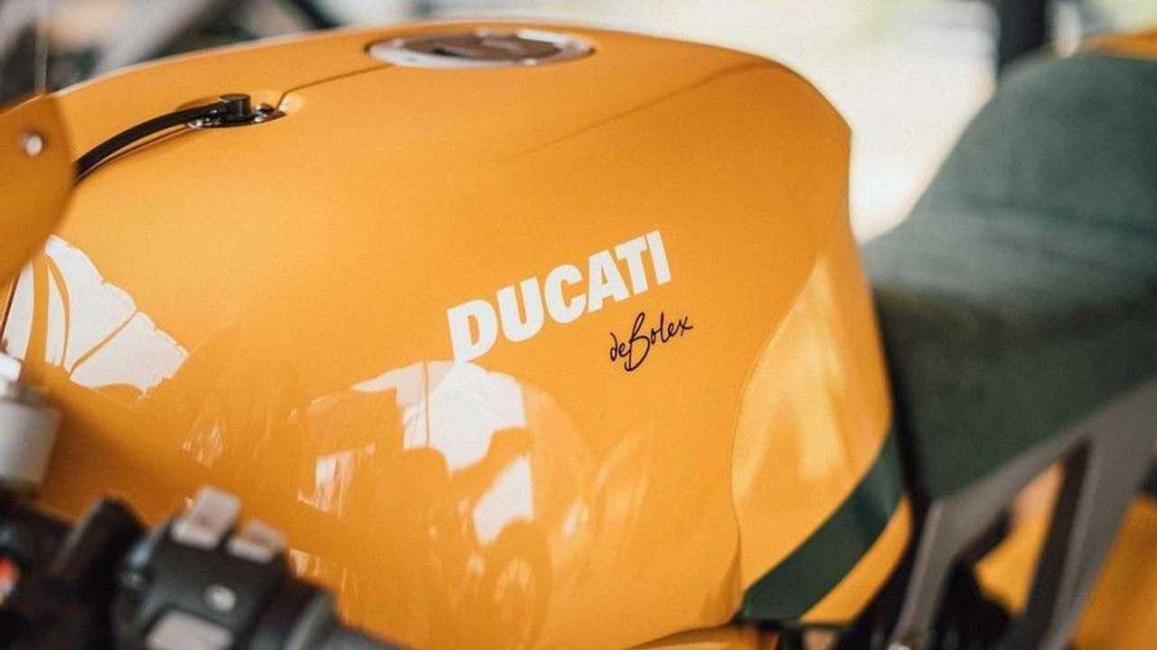 DeBolex Engineering Db25: Ducati Monster 1200 - Tank (Yellow)