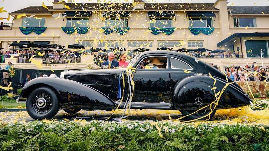 El Mercedes 540K de 1938 gana el Concours de Pebble Beach 2021