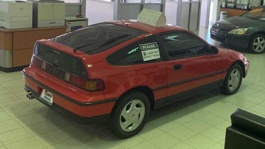 La Honda CRX del 1991 con 1,6 milioni di chilometri