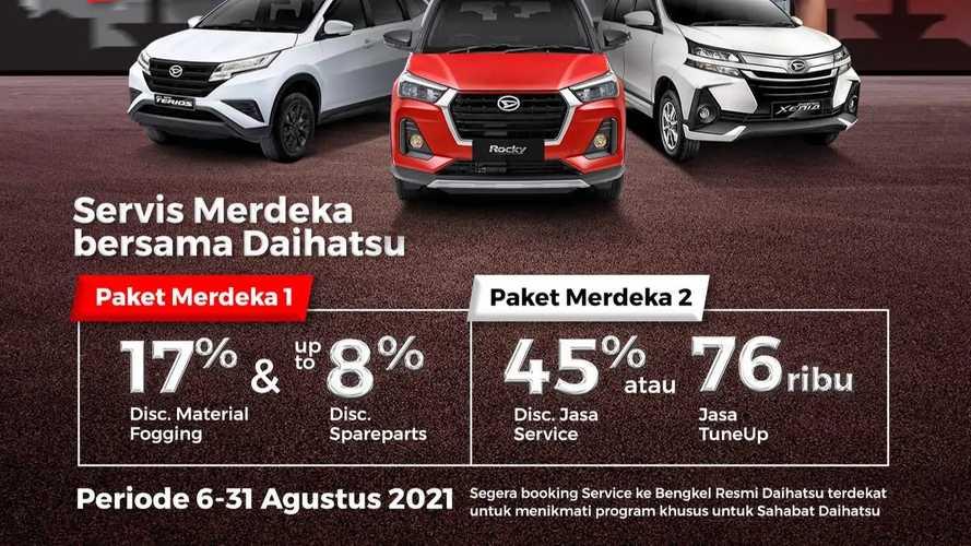 Promo Servis Ekonomis dari Daihatsu untuk Rayakan HUT RI Ke-76
