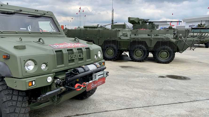 Новая «Шишига» и еще 25 крутых колесных машин форума «Армия-2021»