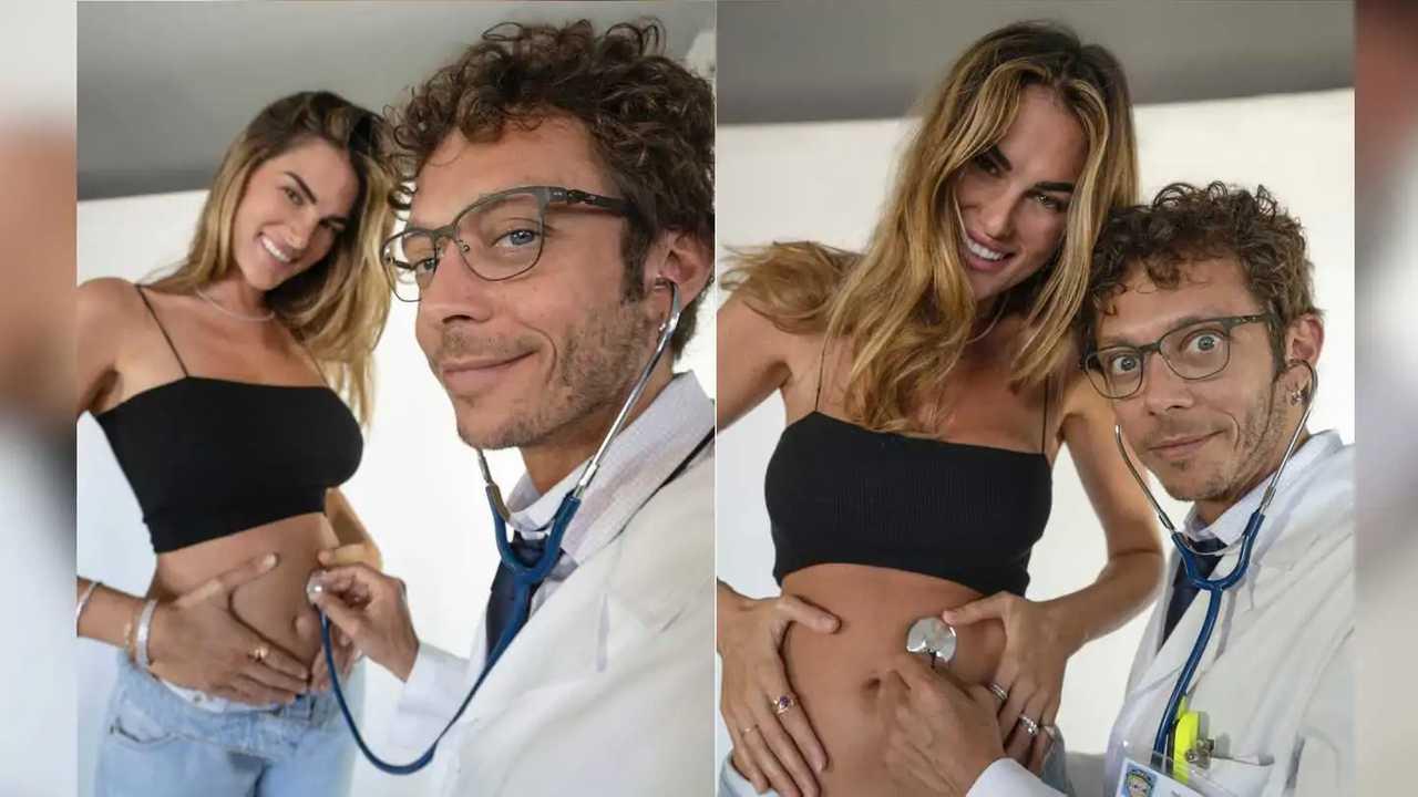 Valentino Rossi Pregnancy Announcement
