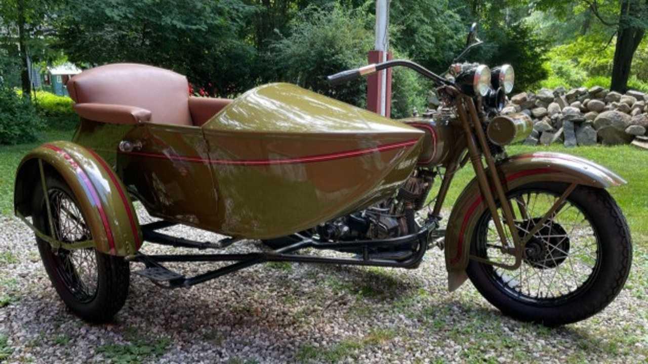 1929 Harley-Davidson Model J Bring a Trailer