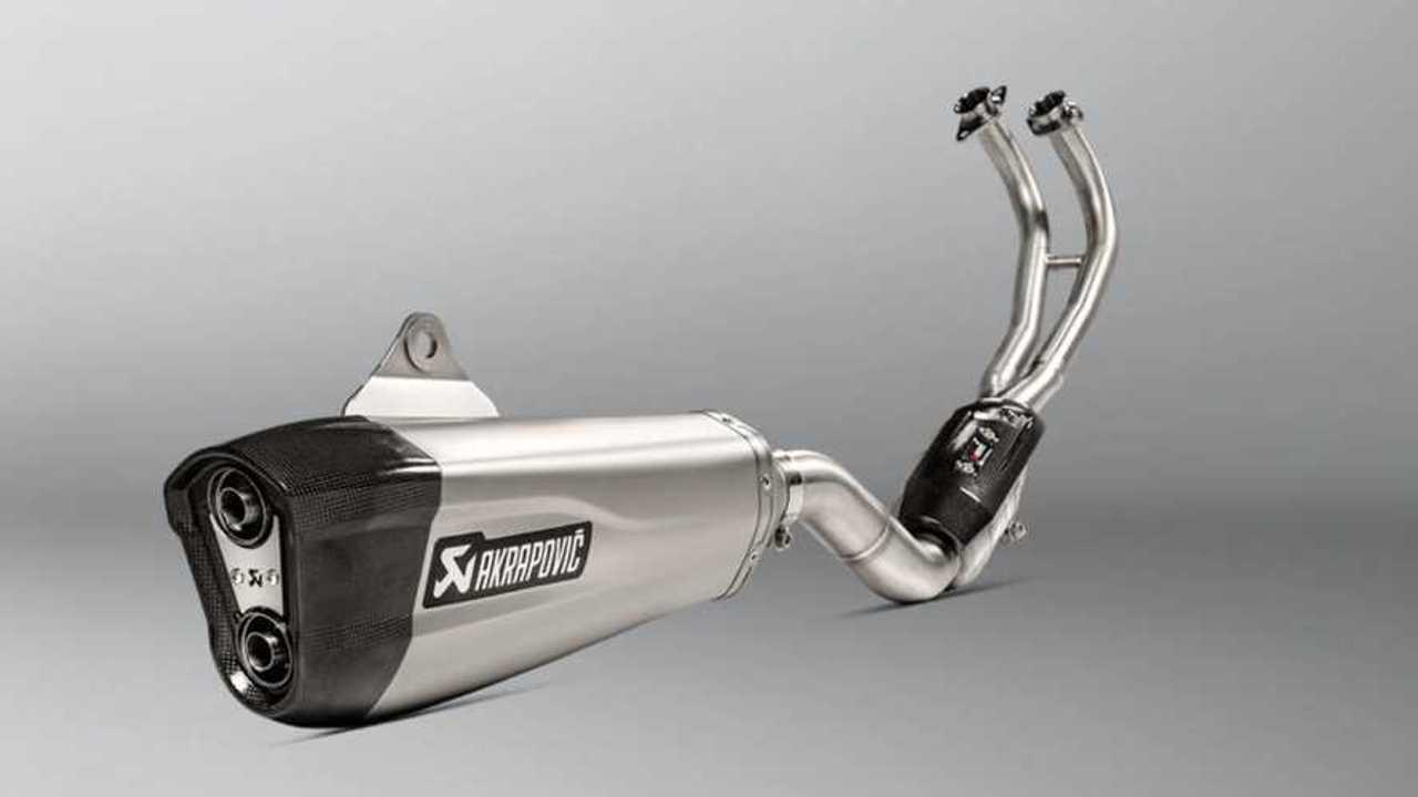 Akrapovič Releases New Full Exhaust System For Yamaha TMAX