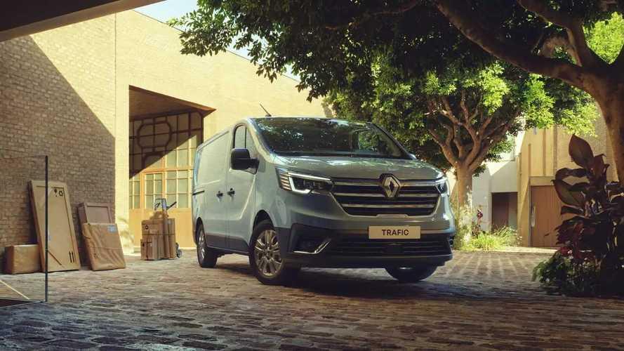 Renault Trafic (2022) Facelift