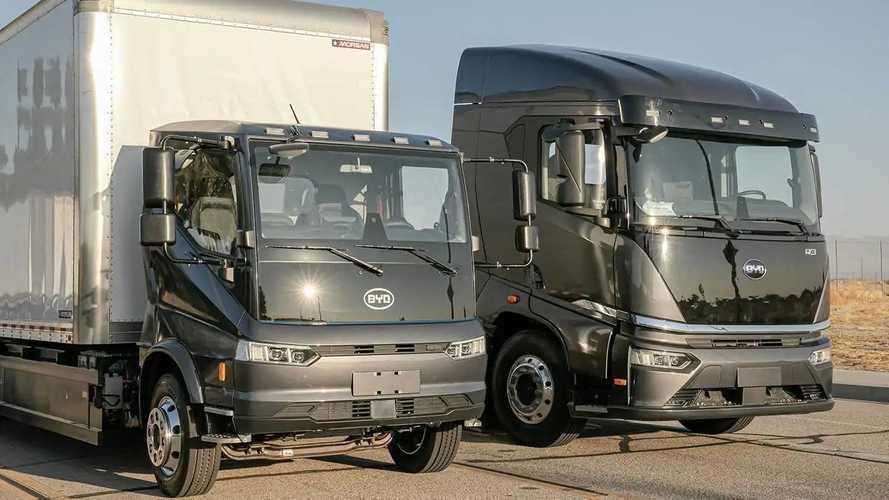 BYD предложит американцам свои электрические грузовики