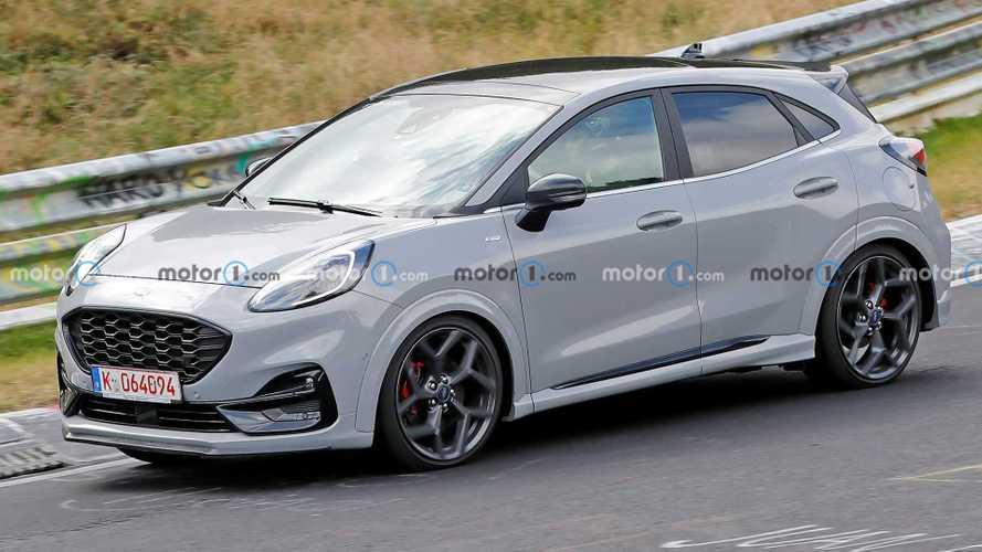Nürburgring'de görülen Ford Puma ST hibrit şeklinde mi geliyor?