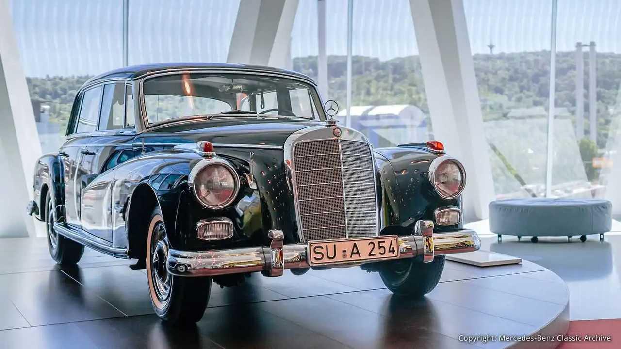 Der letzte Mercedes 300, in dem Konrad Adenauer fuhr