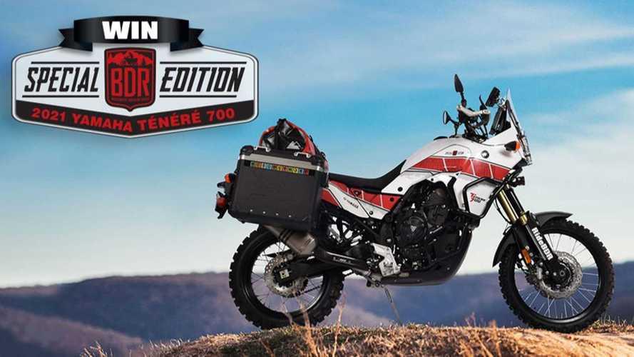 Get A Chance To Win A Yamaha Ténéré 700 By Donating To BDR