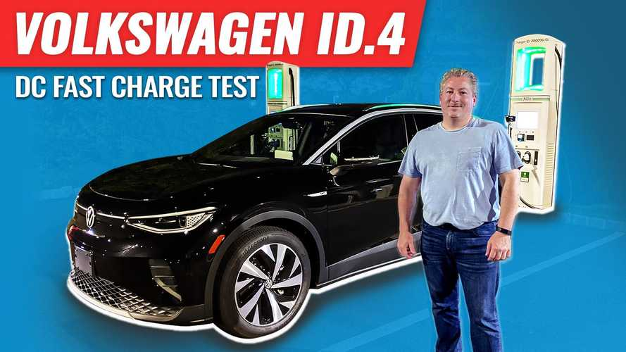 How long does the Volkswagen ID.4 take to charge from 0% to 100%?