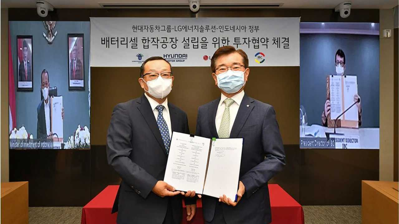 Hyundai Motor Group and LG Energy Solution Sign MoU with Indonesian Government to Establish EV Battery Cell Plant