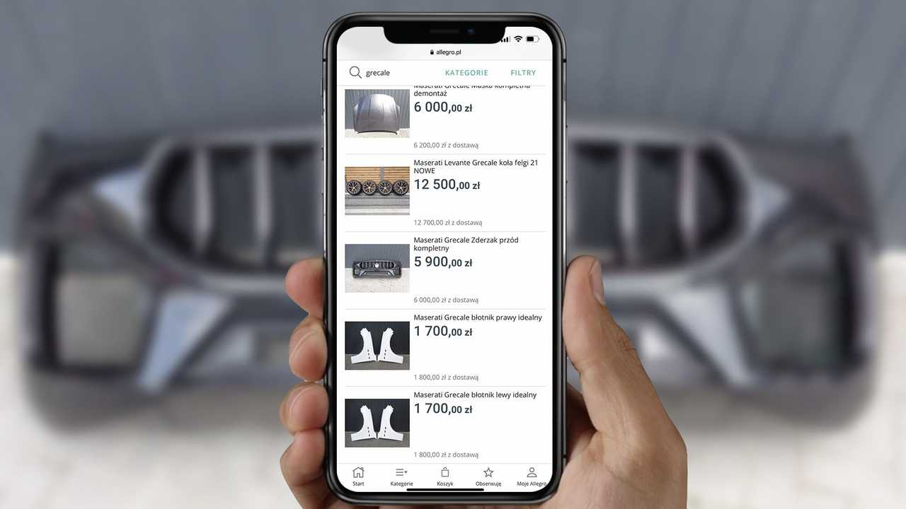 Maserati Grecale Online Store Smartphone Lead