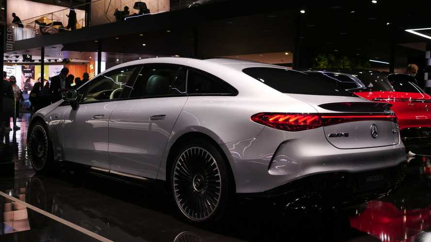 Mercedes-AMG EQS: salon de Múnich 2021