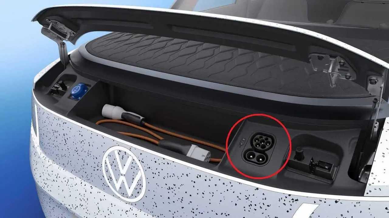 Volkswagen ID. LIFE Concept - frunk and charging inlet