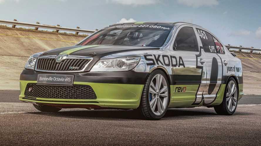 La Škoda qui avait atteint 366 km/h vient d'être restaurée