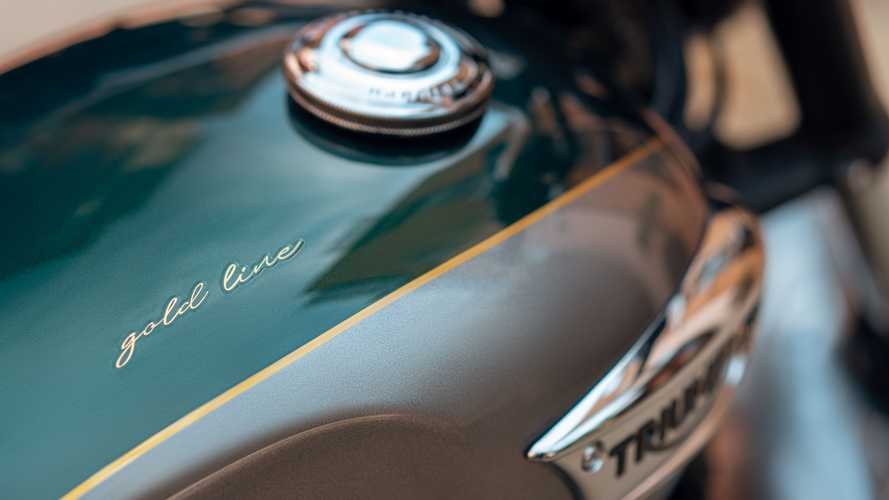 Triumph Introduces Eight Bonneville Gold Line Editions For 2022