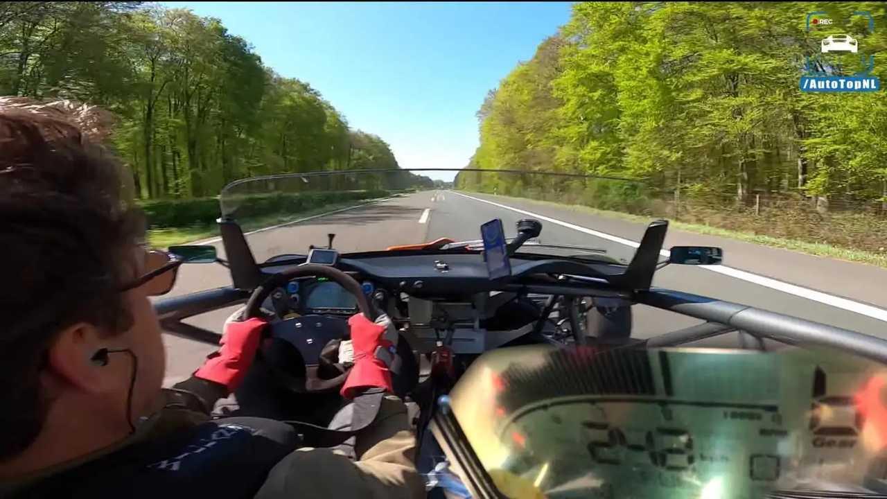 Ariel Atom, il video sull'Autobahn tedesca