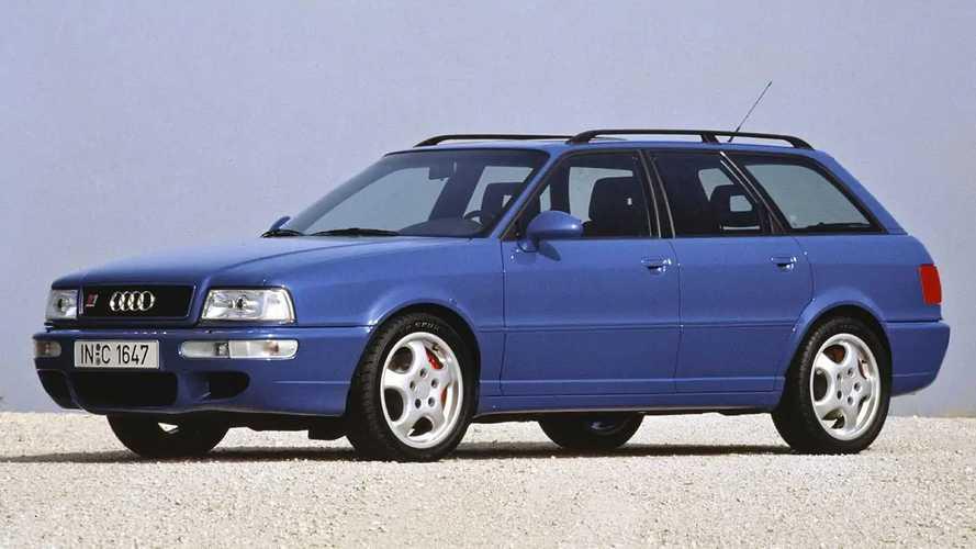 El icónico Audi RS2 Avant regresa a Zuffenhausen, donde nació