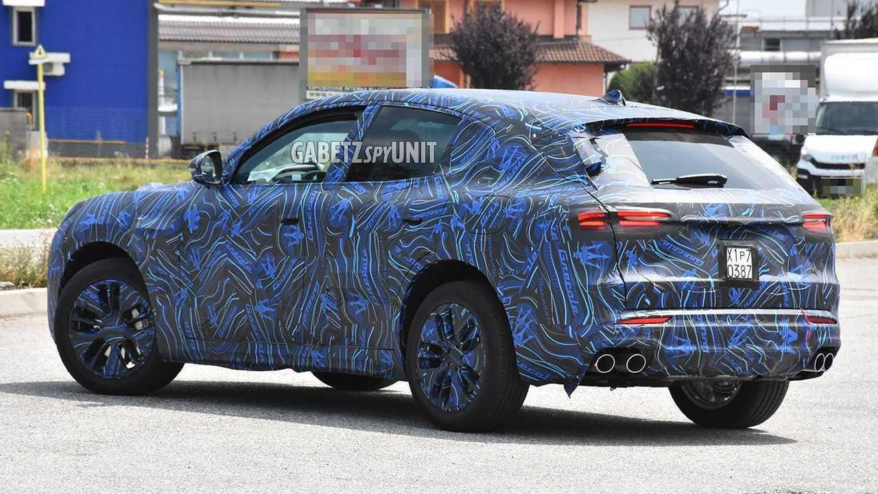 2022 Maserati Grecale Oldalnézet Spy fénykép