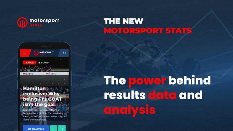 Motorsport Stats é relançado com novos recursos e dados mais rápidos