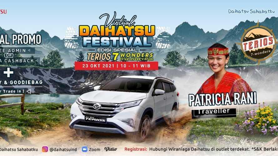 Daihatsu Ajak Berpetualang di Virtual Festival Sambil Tebar Promo