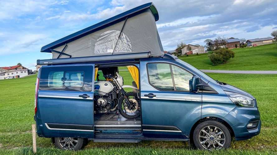 New Ford Transit Camper Van Packs A Lot Into Its Small Space